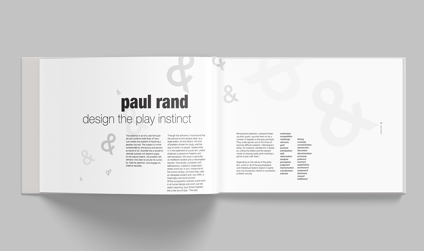 Design The Play Instinct On Behance