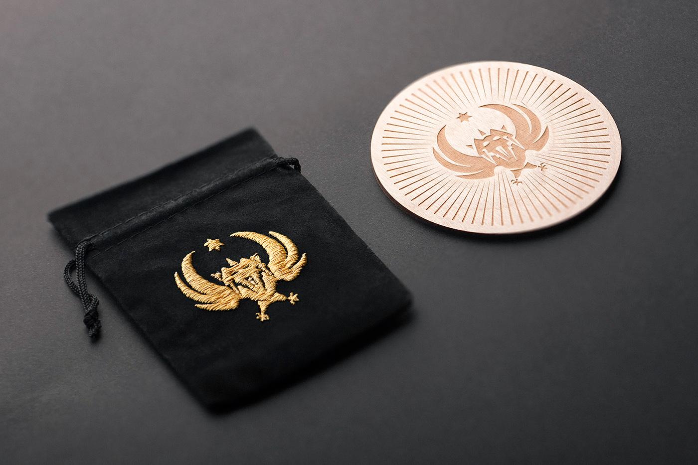 dark wood gold warsaw foxtrot foxtrotstudio poland 13devils black