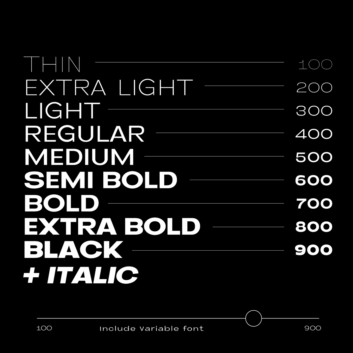 free font family type typography   experiment Style variable sans minimal