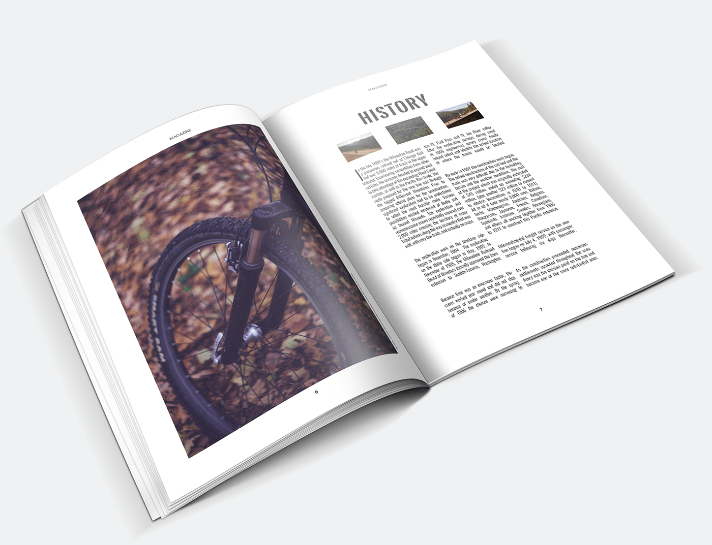 design Layout Magainze