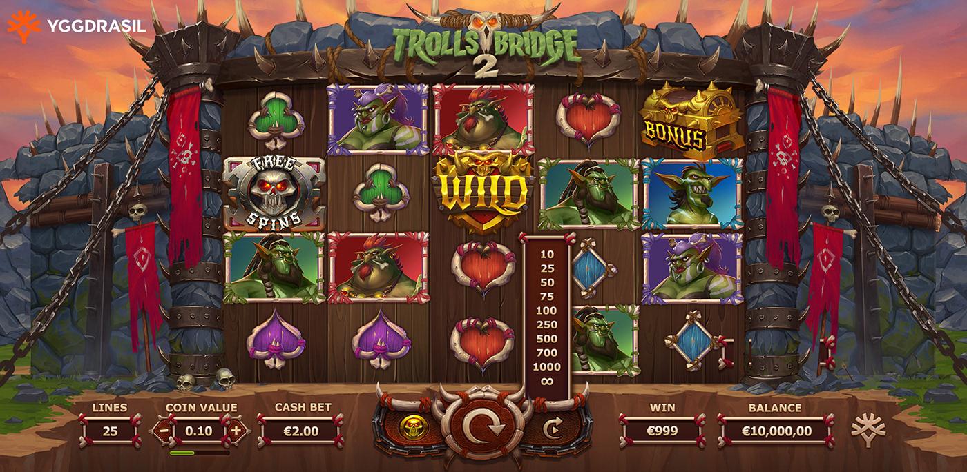 Online Trolls Bridge Slot Info