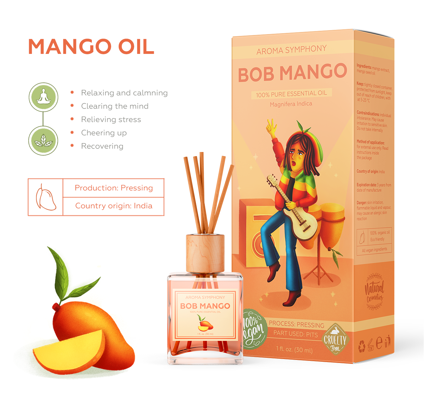 Aroma oils Character design  characters diffusers essential oils musician Packaging packaging design product product line