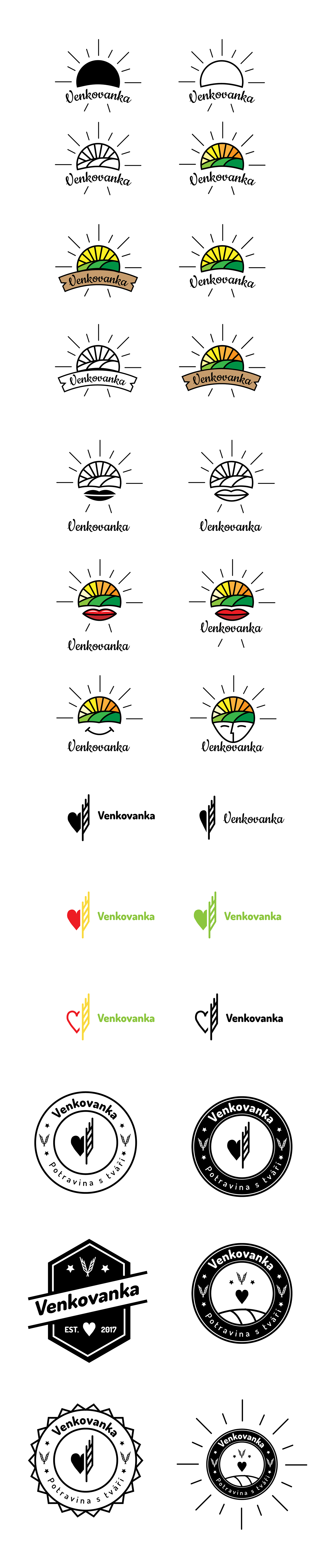 logo Venkovanka farm goods