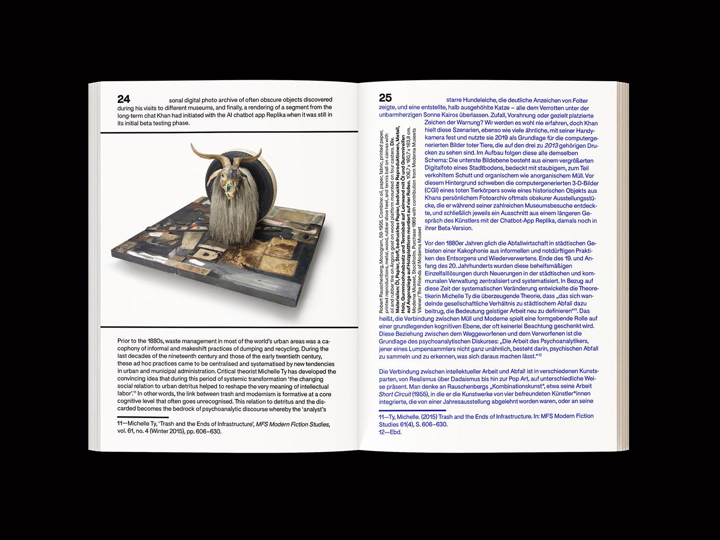 catalog Exhibition  publication typography