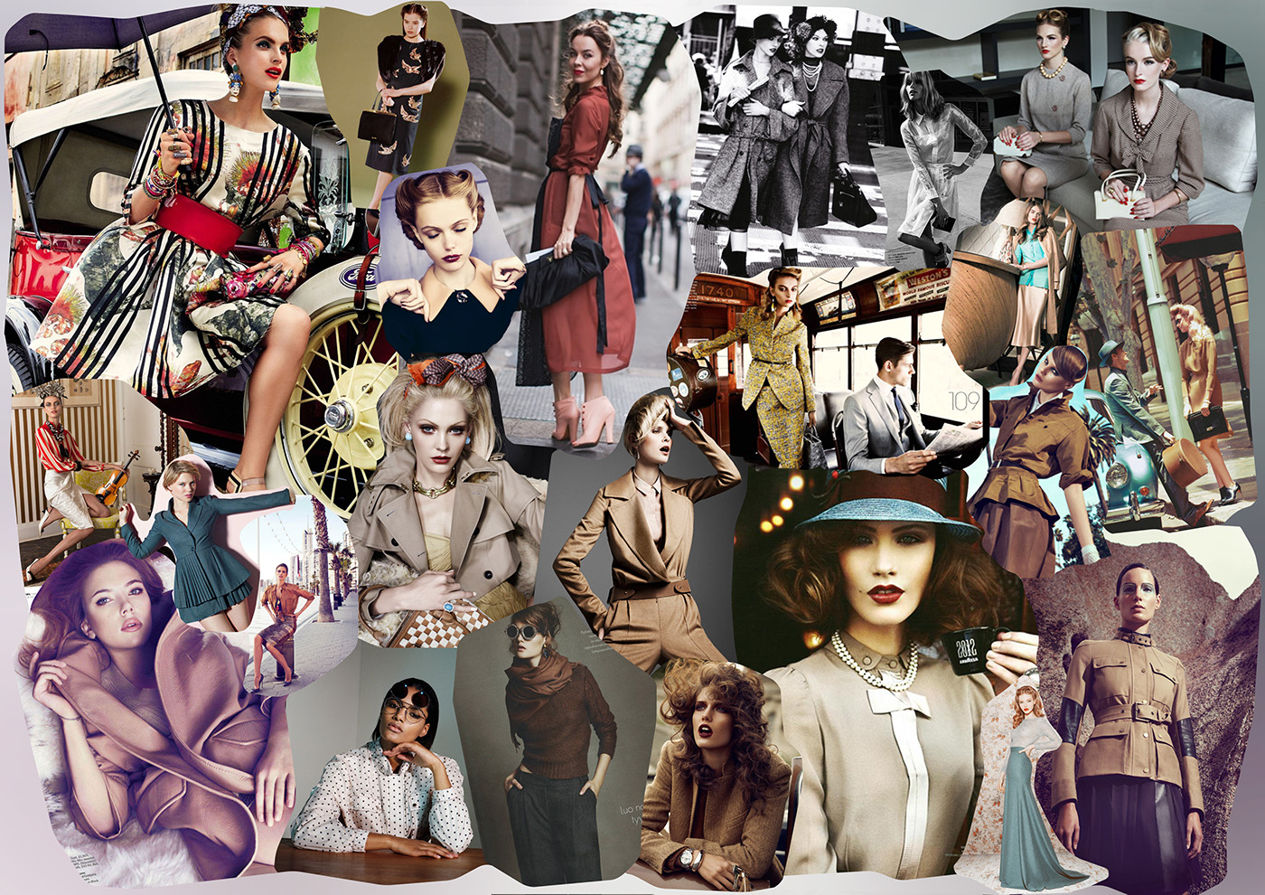 Fashion Moodboards 3 On Behance
