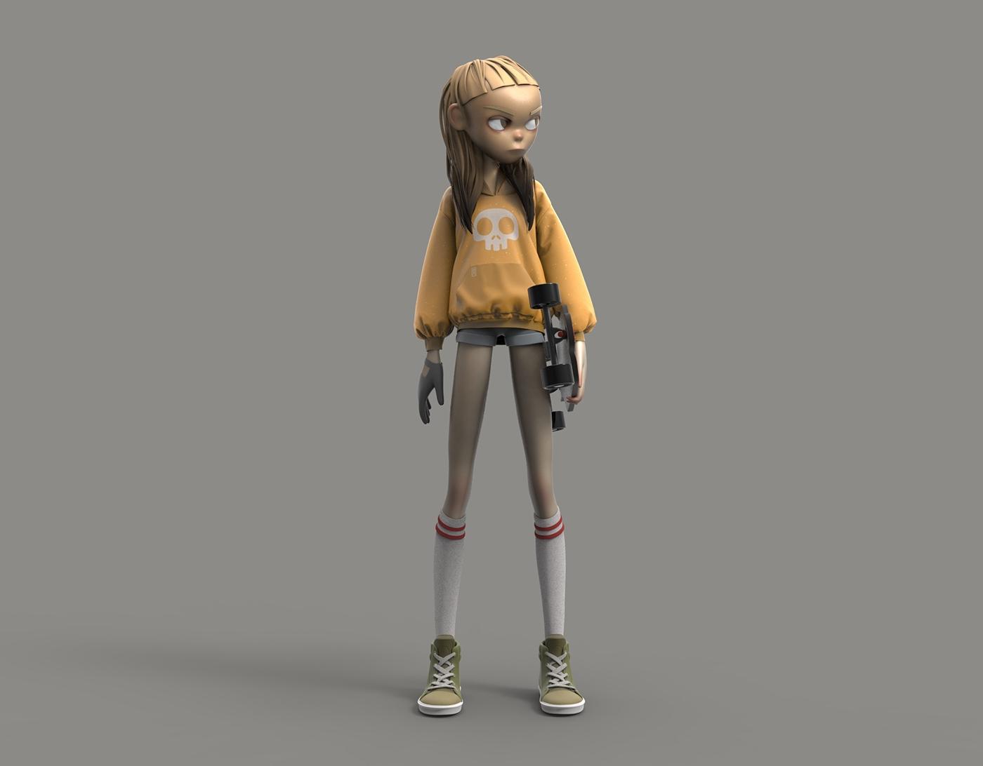 Milica Martic Digital Portrait Of A 3d Fashion Designer Article Cgsociety