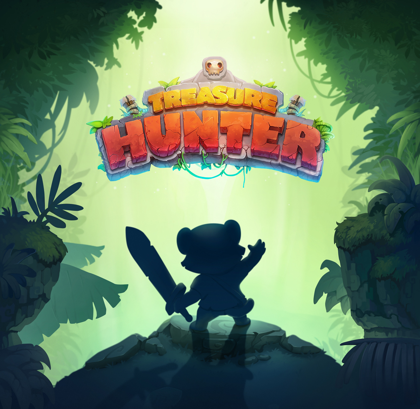 game UI Character Icon llustration monkey tiger GUI animal rpg