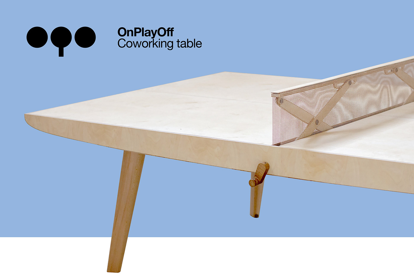 coworking creative design i+d innovation ping pong play product table wood