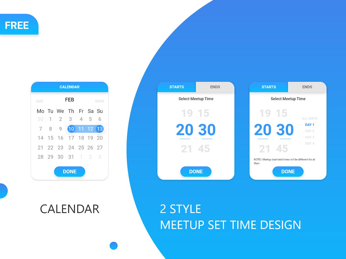精細的36套月曆設計欣賞