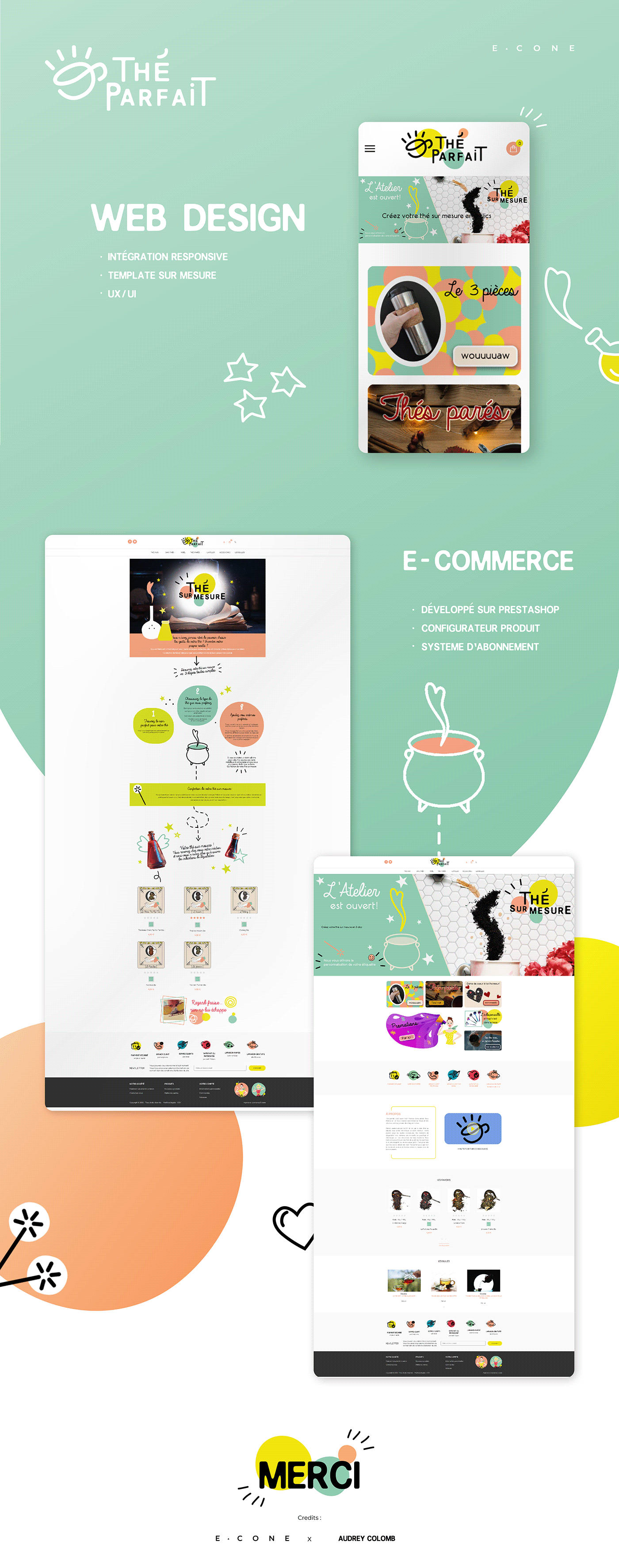 developpement e-commece Web Design