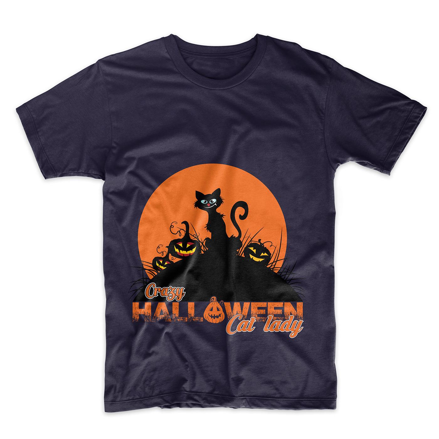 Halloween T Shirt Ideas.Halloween T Shirt Designs Bundle On Behance