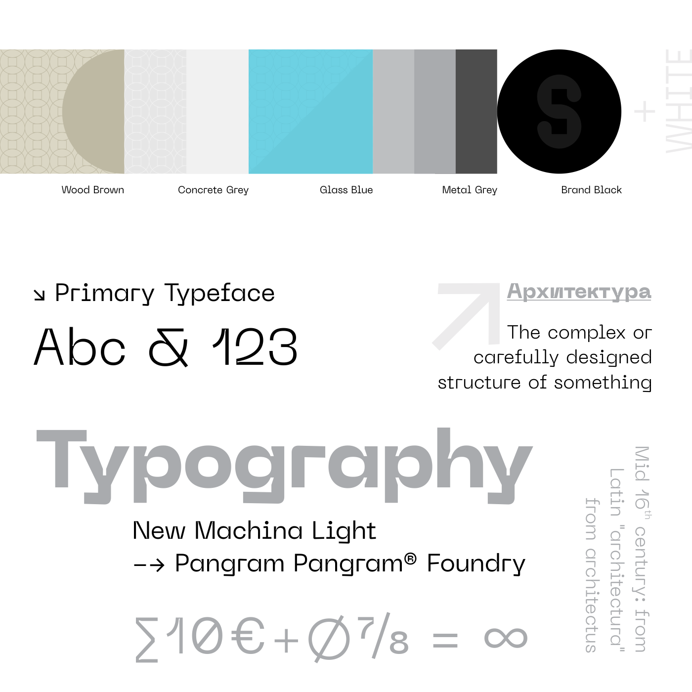 Colors & Typography for Structura