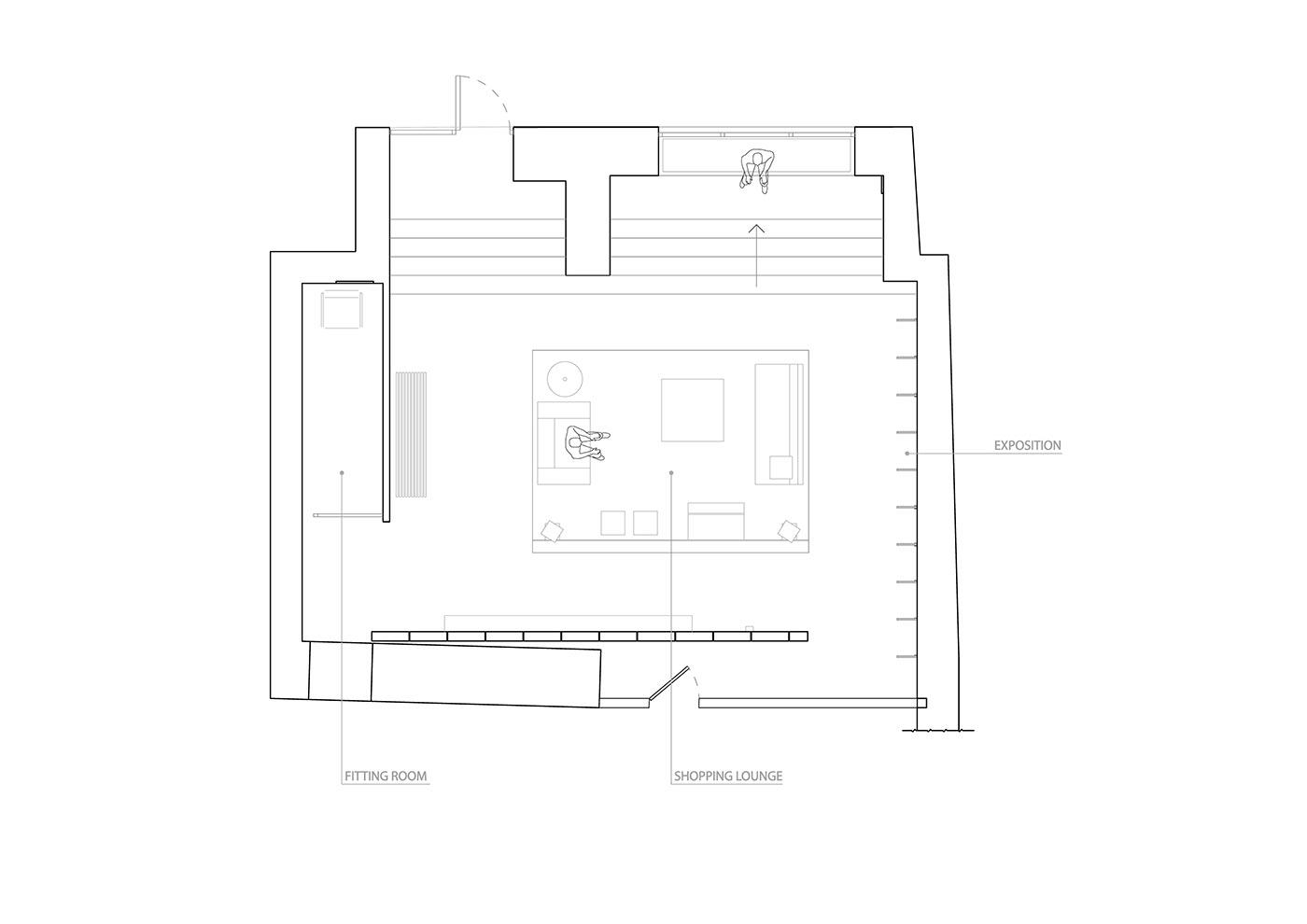 balbek Balbek Bureau commercial design custom design Interior Architecture interior design  interior inspiration interiors modern interior retail interior