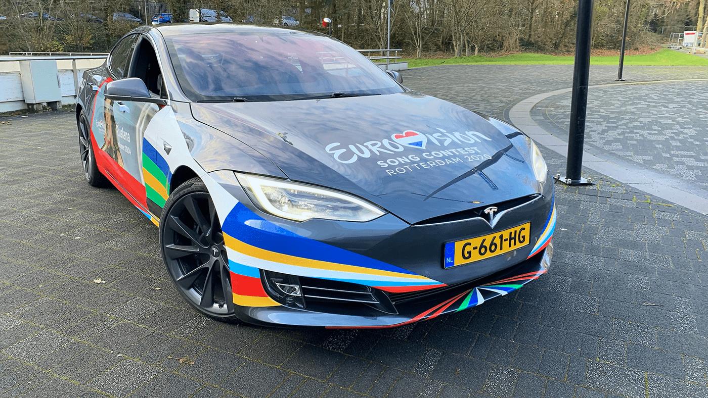 Eurovision 2020 car design