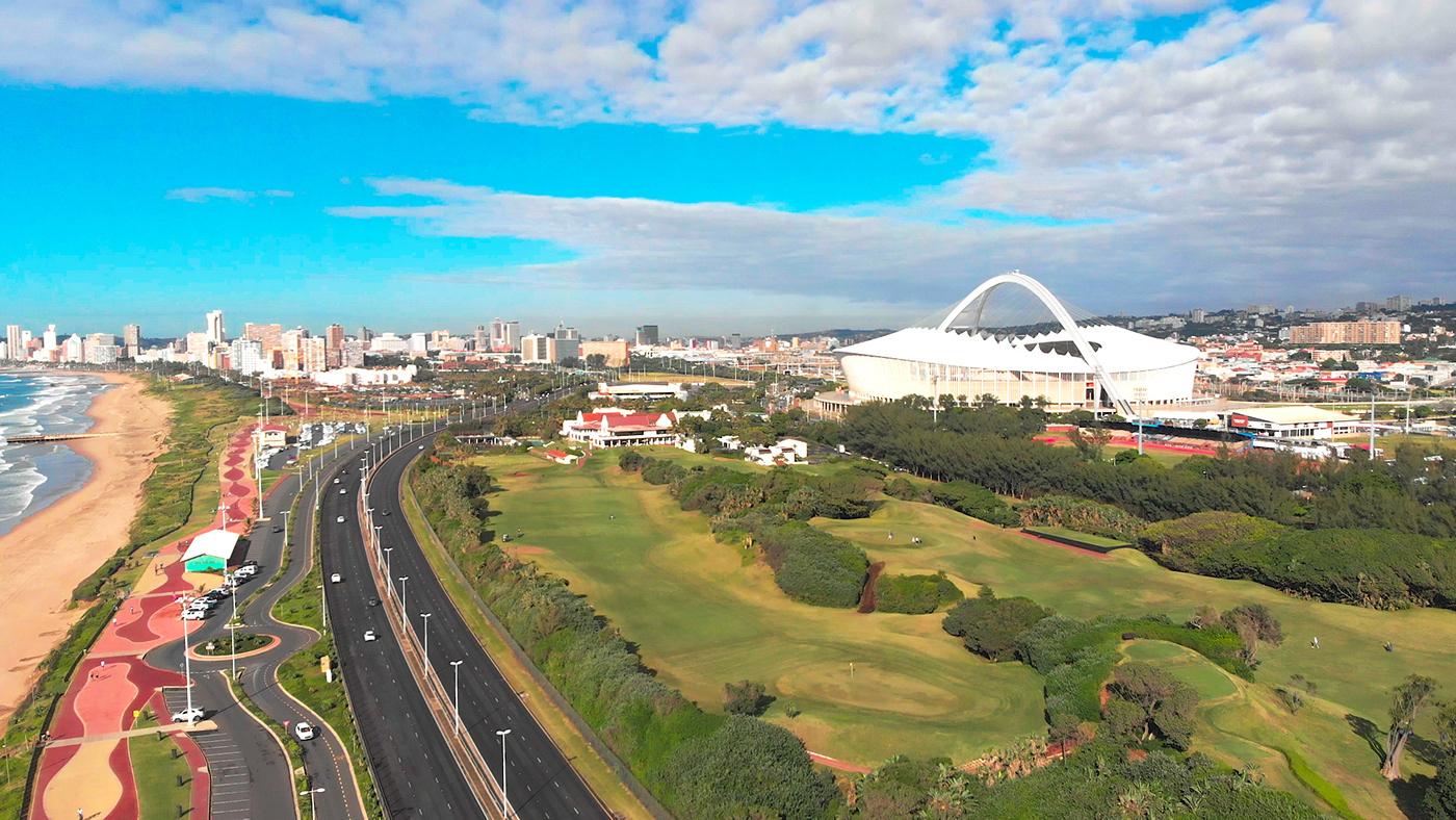 MOSES MABHIDA STADIUM stadium durban beauty tourism drone marketing   Photography  Drone photography aerial shot