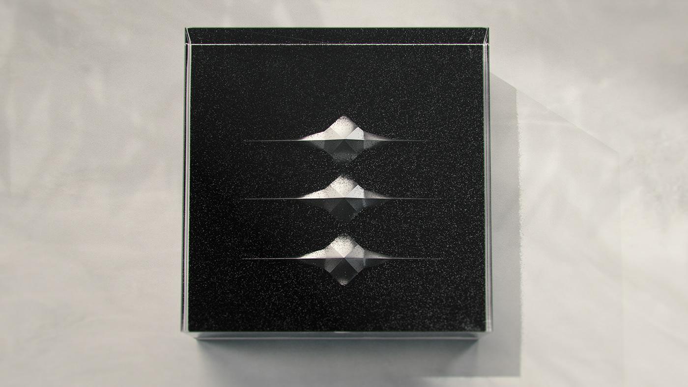 3D black cinema4d digitalart glass grain logo noir Render sand