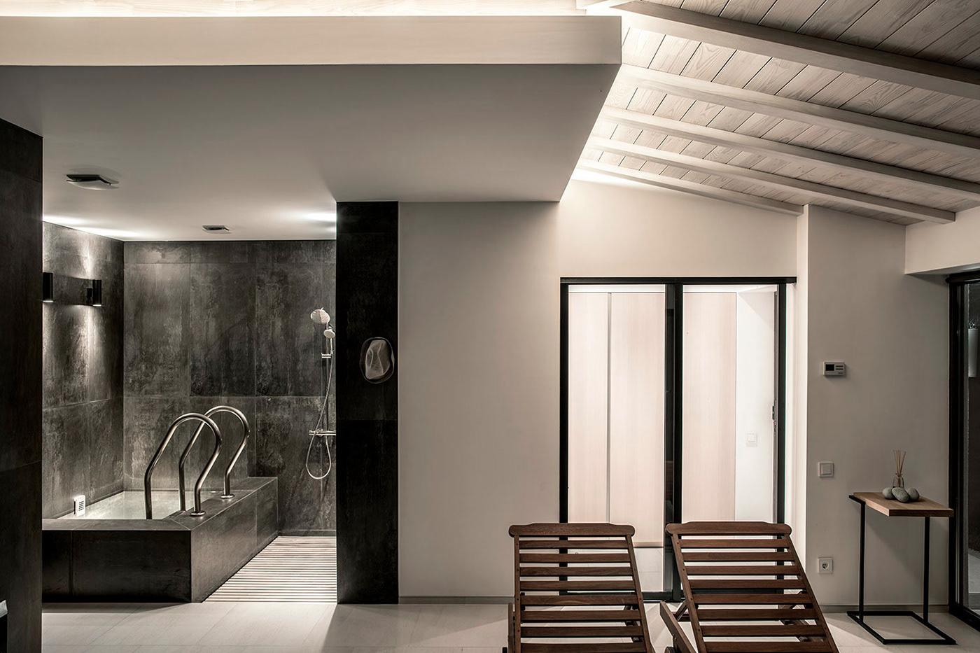 Form VikaShkliar house Interior design ukraine kiev interia Sauna Spa