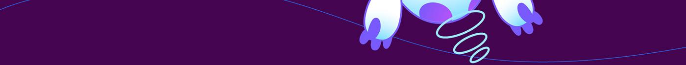 2D 3D animation  blockchain branding  cartoon Character design  cryptocurrency ILLUSTRATION  motion
