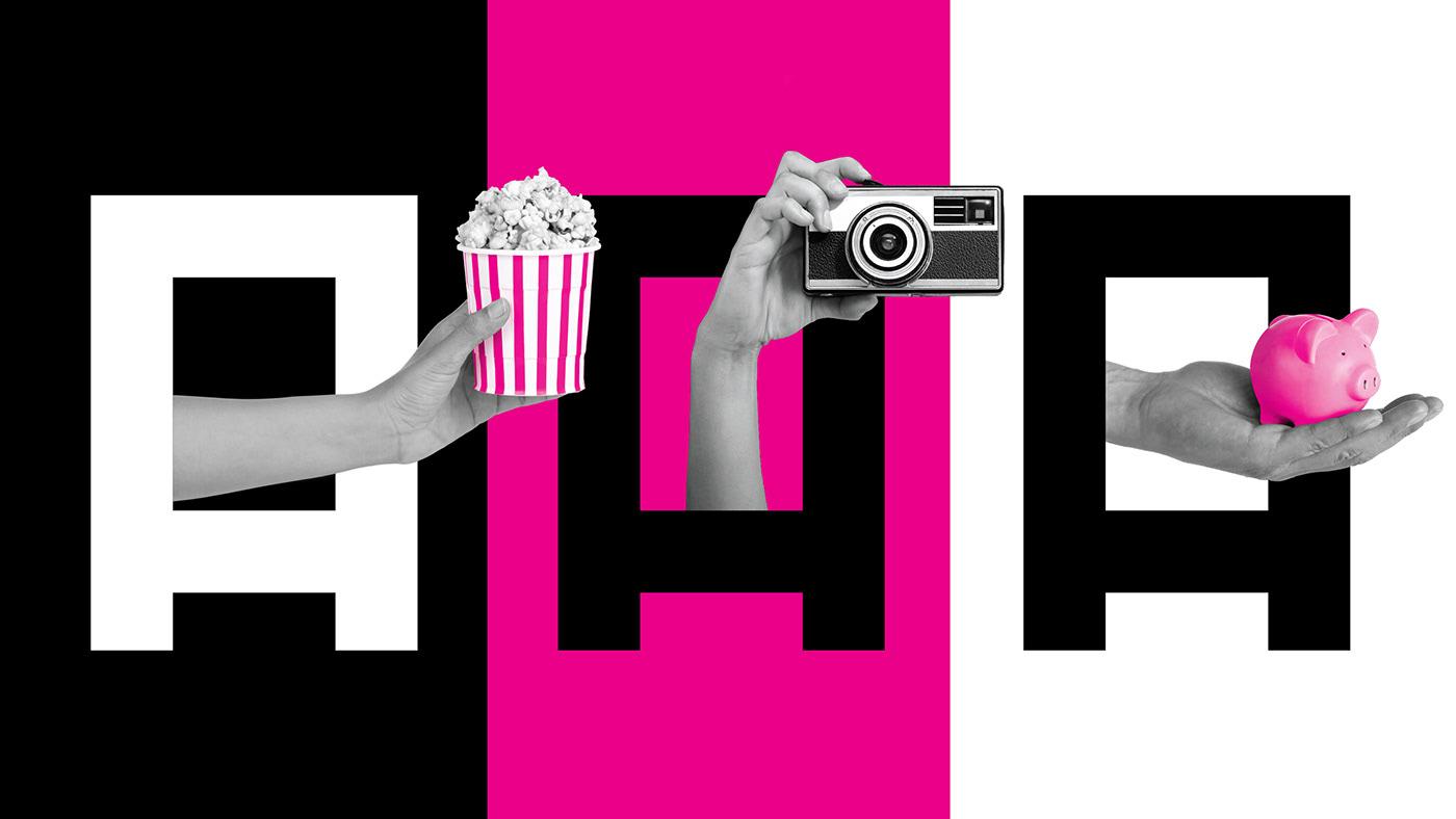 Film   movie paper Awards short film black and white humor funny copy magenta