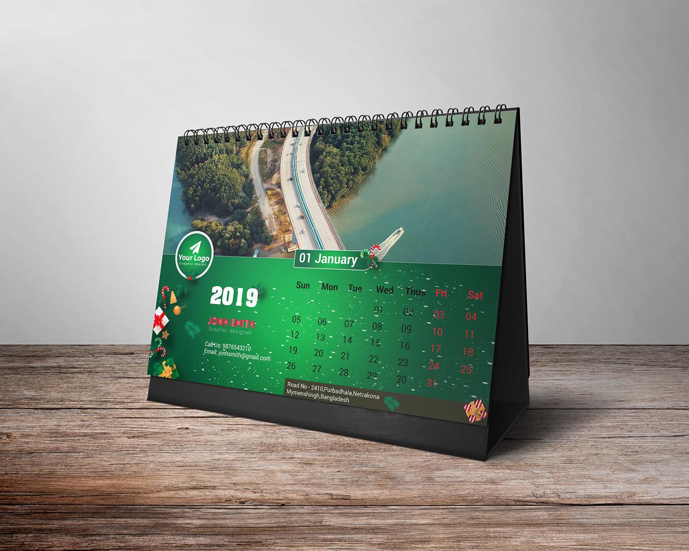 極美的36個月曆設計欣賞