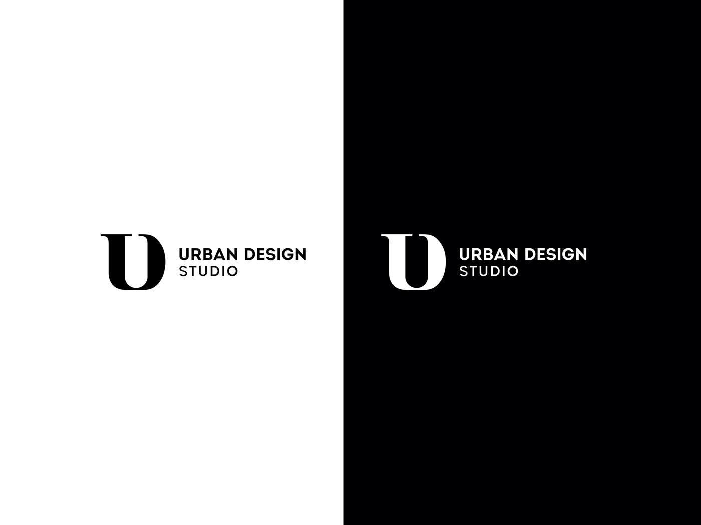 Urban design studio brand identity print logo stationary