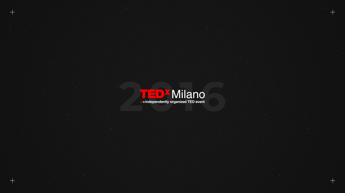 TED TEDx milan Event crossings format digital print talks speech