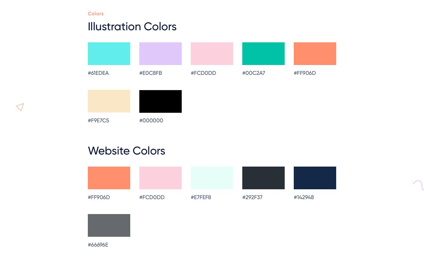 Web Design  illustrations minimal animation  flat lines landing page social management Collaboration