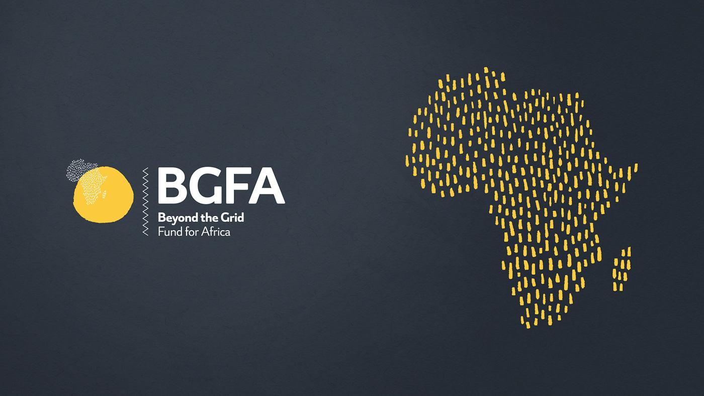 africa communities electricity energy grid identity logo pattern solar Sustainability