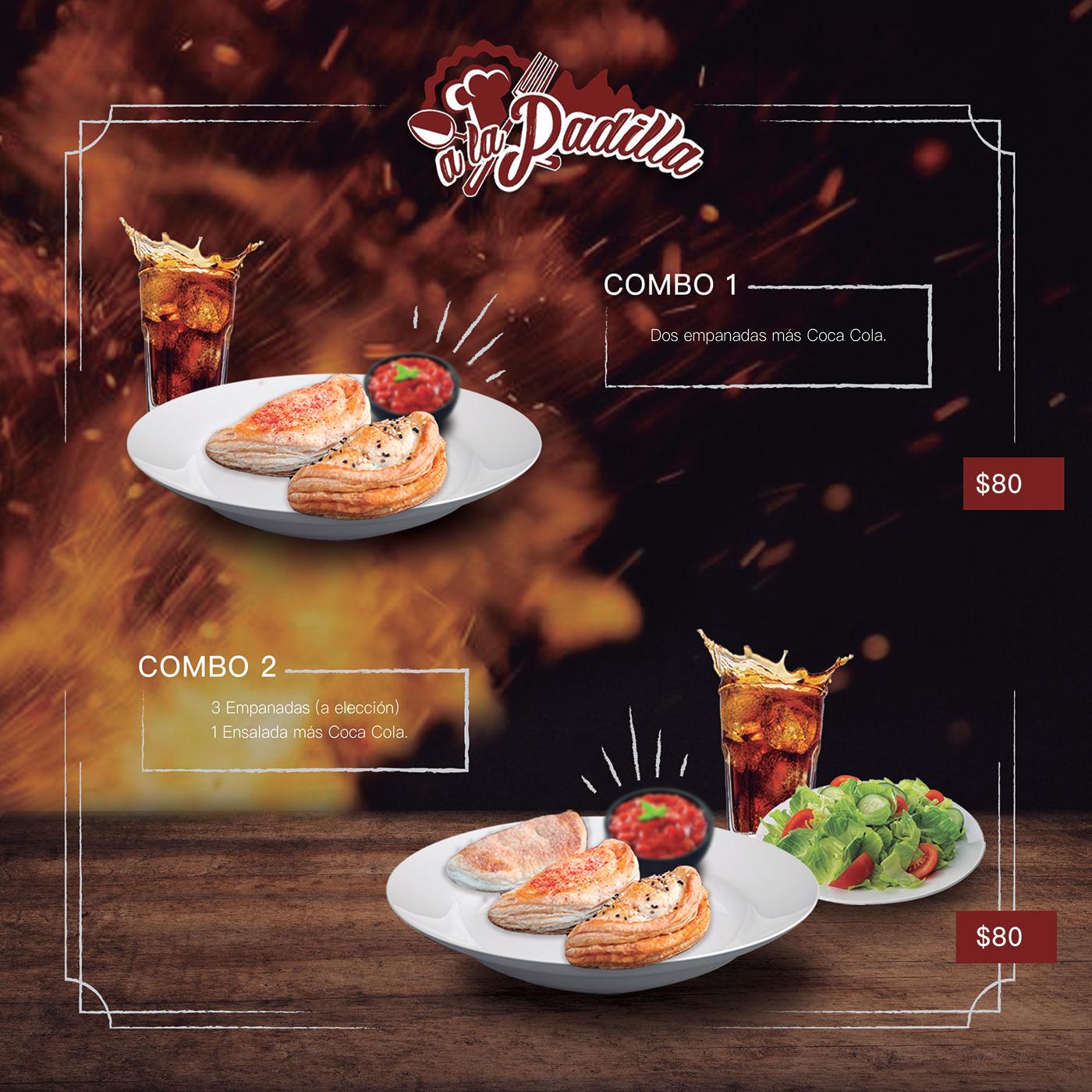identidad visual Identidad Corporativa menu branding  marca