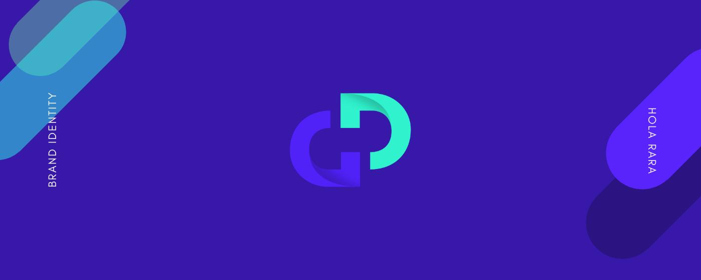 ambigram branding  Graphic Designer logo monogram Personal Brand