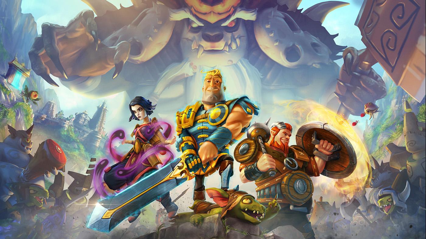 fantasy mobile game on behance