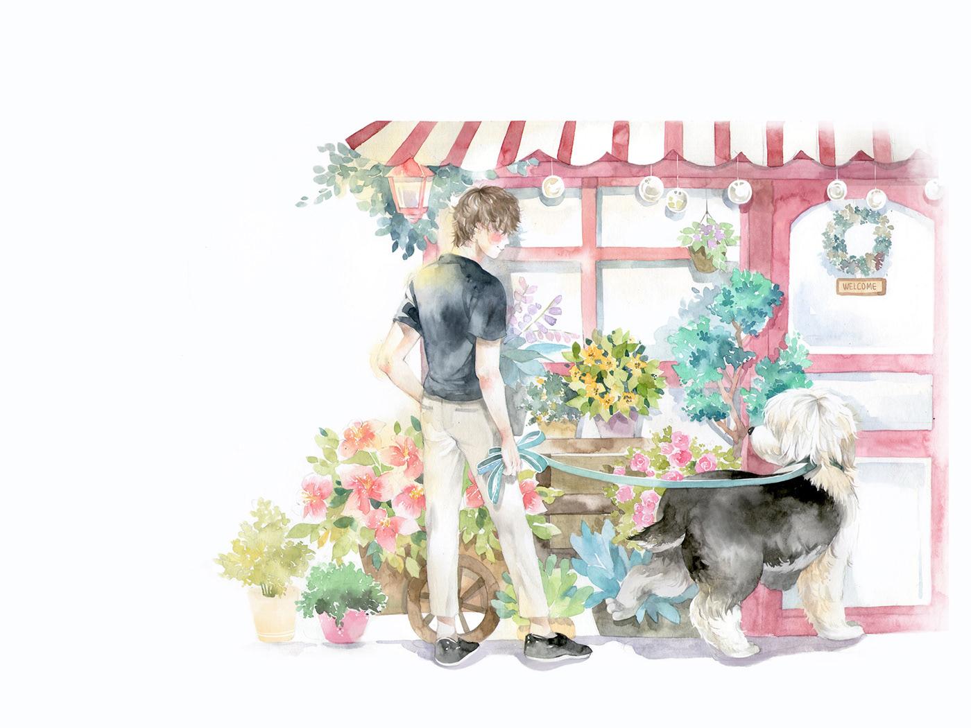 高質感的45款韓國插畫欣賞
