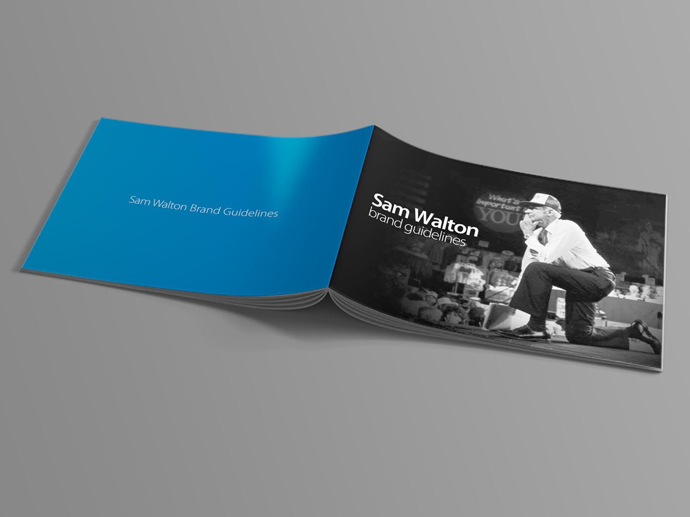 Sam Walton Brand Guidelines on Behance