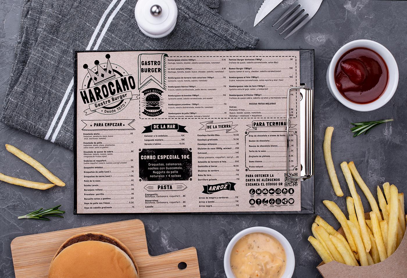 Image may contain: food and menu