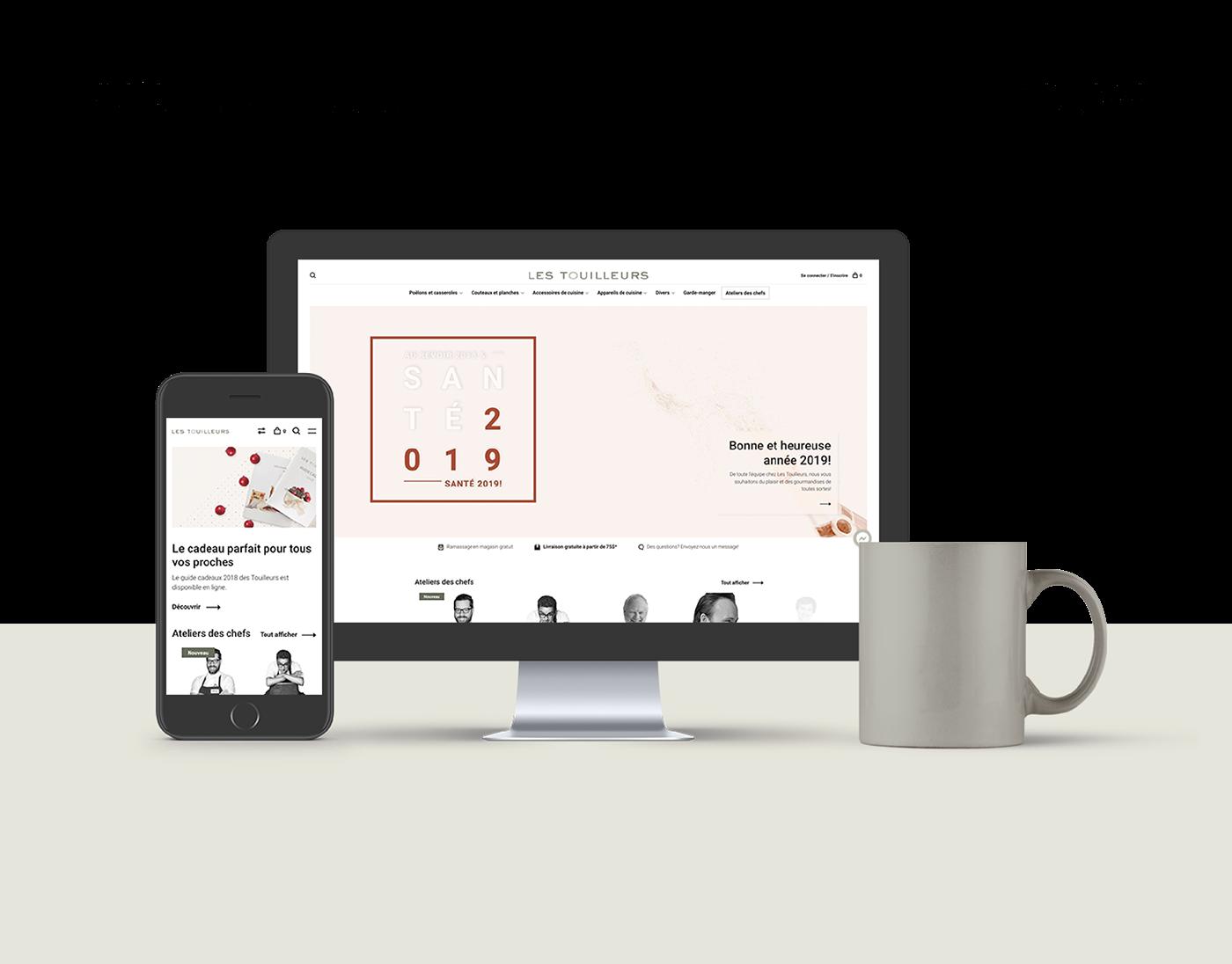 Boutique Web e-com strategy marketing   Web marketing design design ui