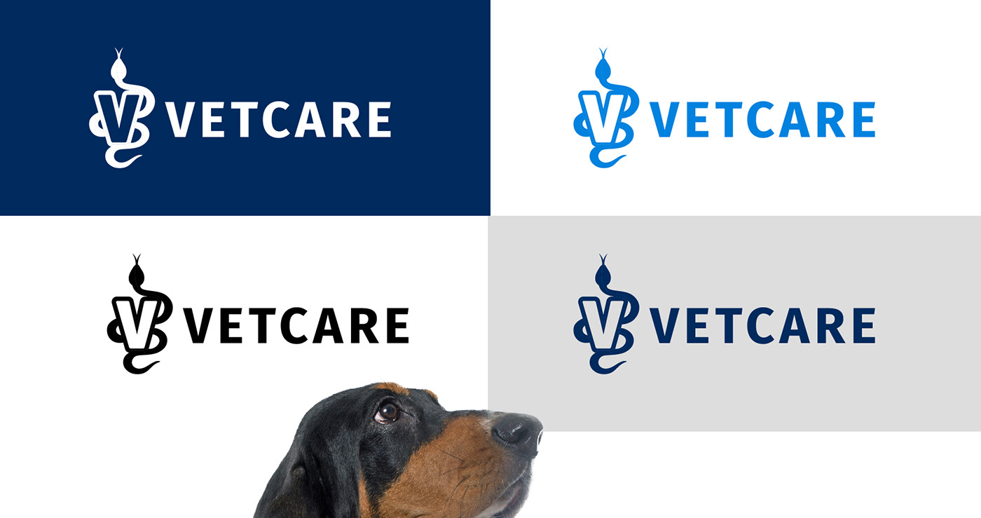 veterinary care logo designs