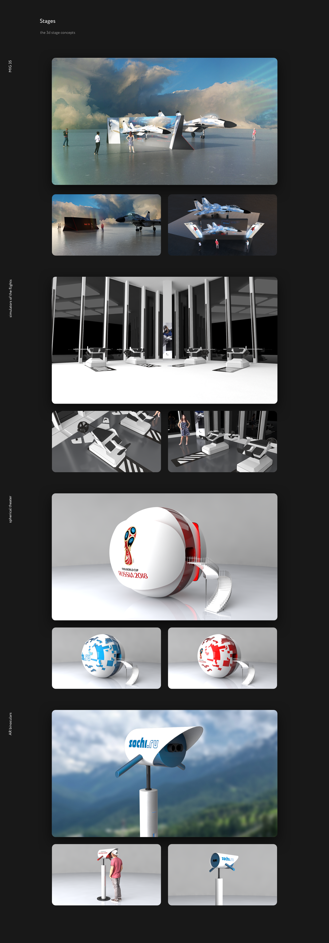 ux UI motion Interface HUD infographics CG Stage scene art