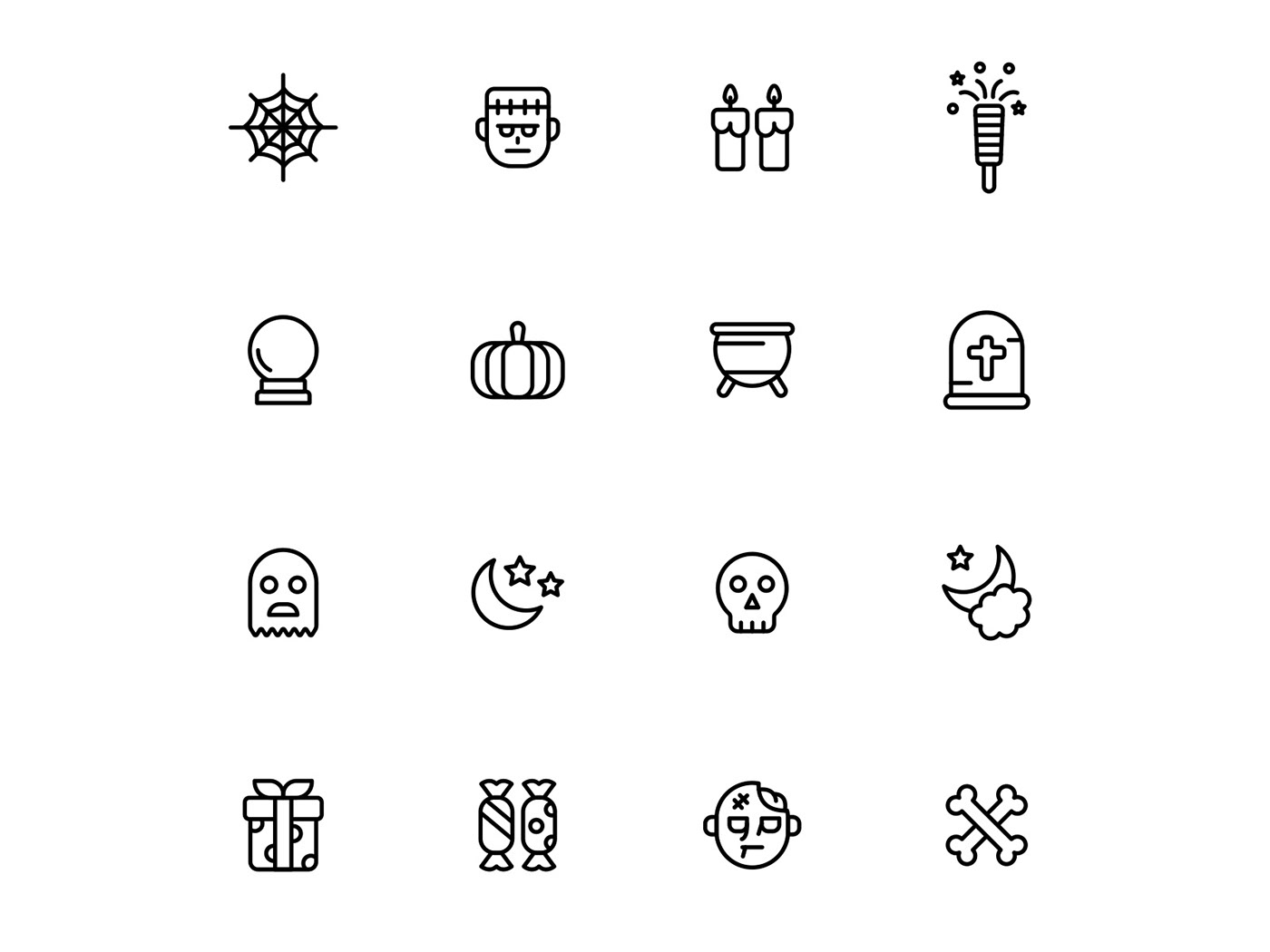freebie Halloween halloween icon Halloween Vector icon design  icons download icons pack icons set vector design vector icon