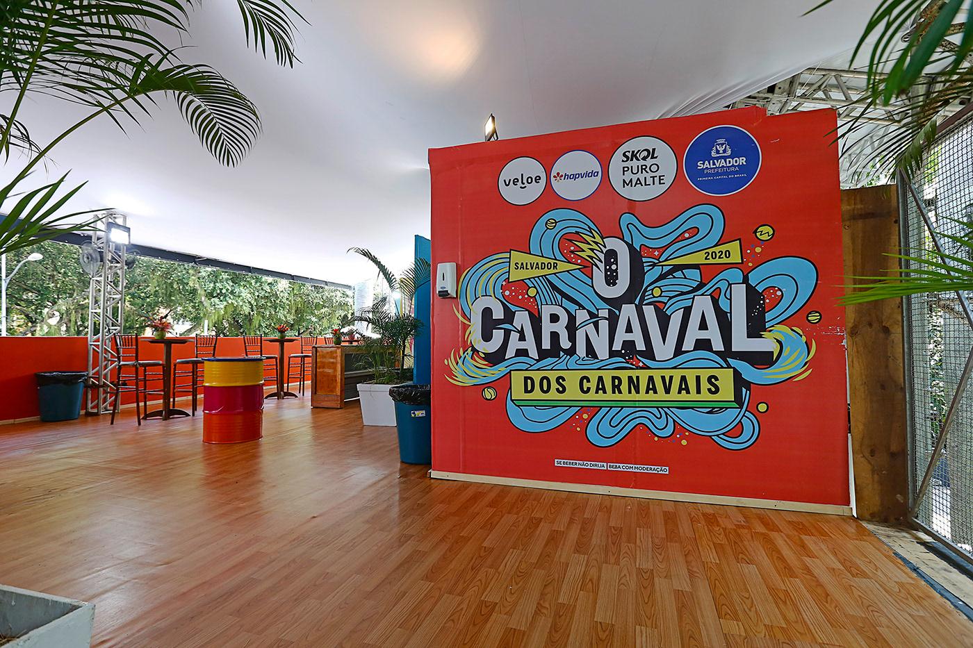 bahia Carnaval identidade visual marca o carnaval dos carnavais Prefeitura de Salvador salvador