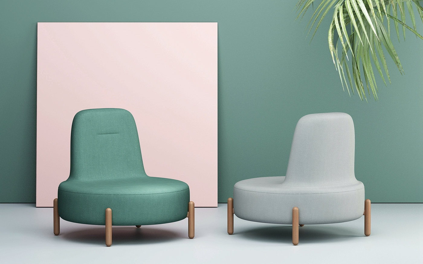 JADE沙发是一个圆的形状,靠背的线条简约流畅,搭配四个胶囊形状的木制脚,全部以圆润形态柔软呈现,整体给人一种温润和舒适的感觉。设计师认为u201c设计应该是简约的,但  ...