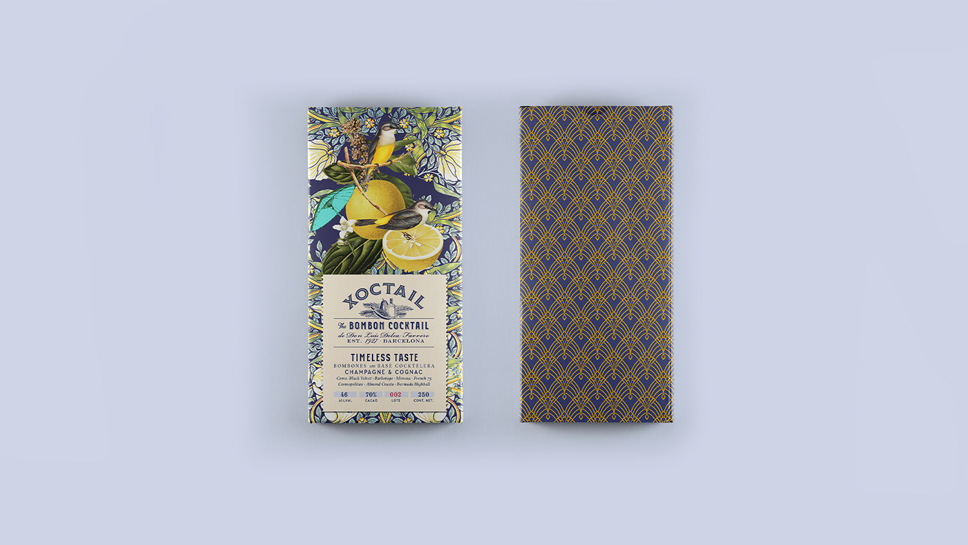 alcohol,barcelona,bombon,chocolate,cocktail,collage,Packaging,pattern,vintage,william morris