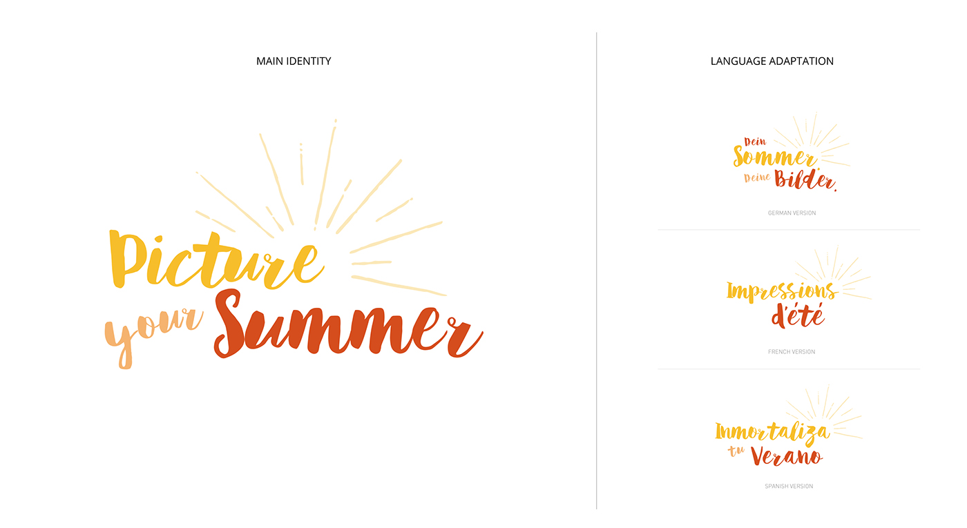 summer,art direction ,graphic design ,banners,campaign