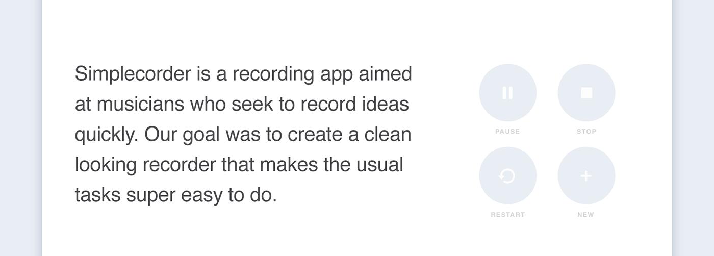 Recorder Audio record music memos guitar voice