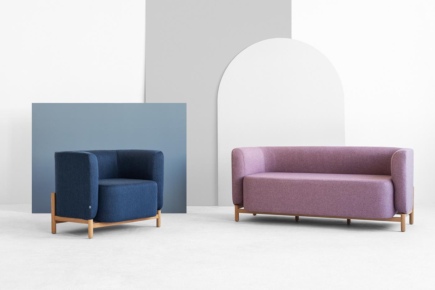 Terrific Polar Sofa For Fameg On Behance Bralicious Painted Fabric Chair Ideas Braliciousco