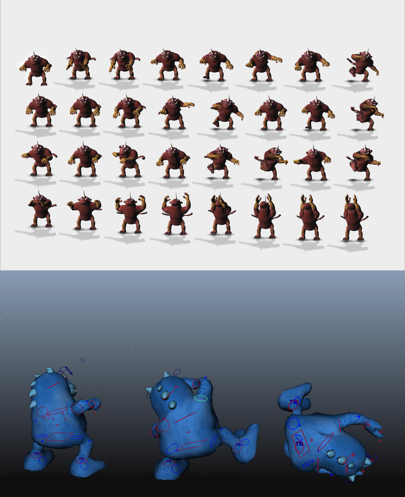 mobile game geolocation character modeling