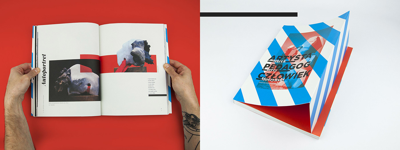 Album book moszynski print publication sculpture
