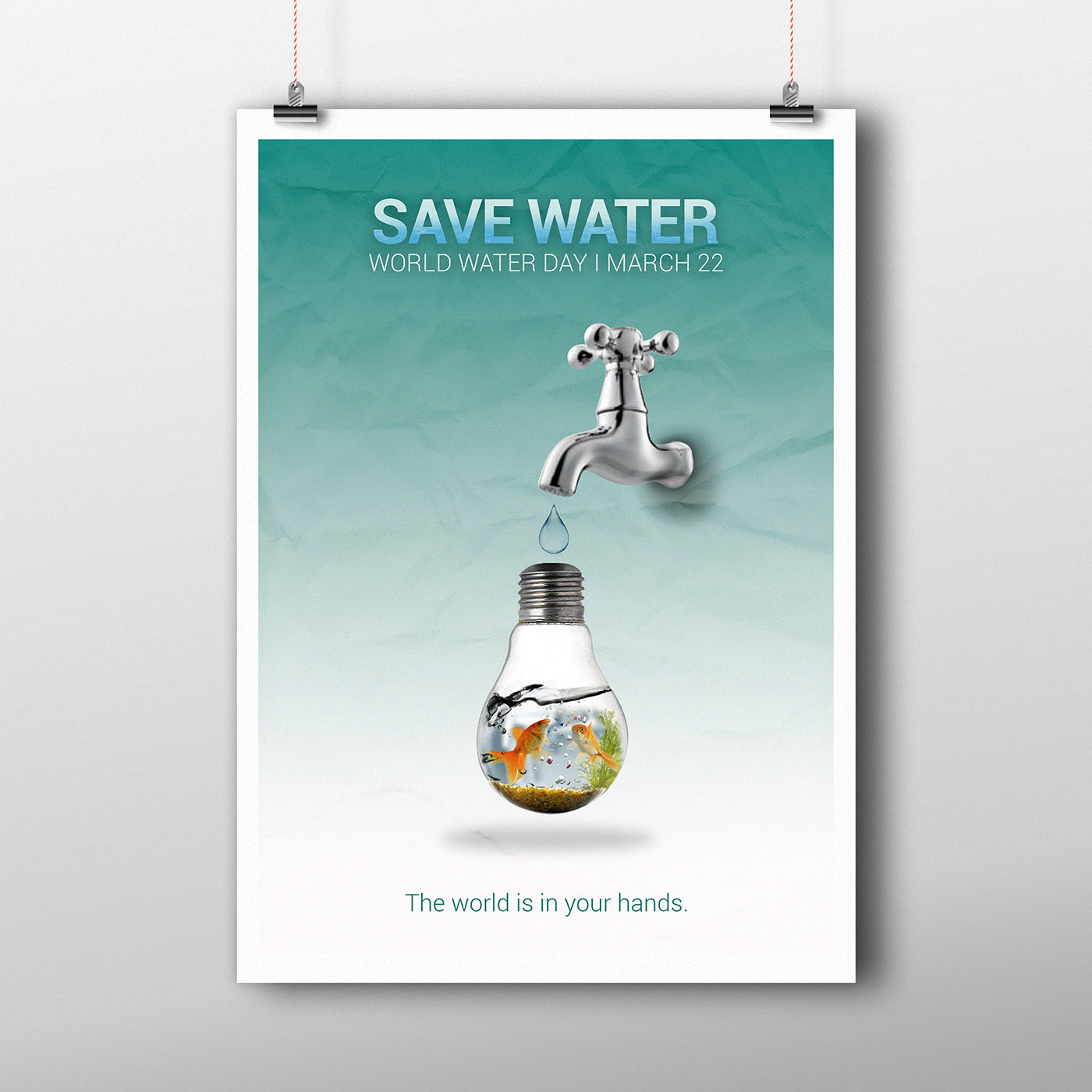 Poster design on save water - Poster Design On Save Water 15