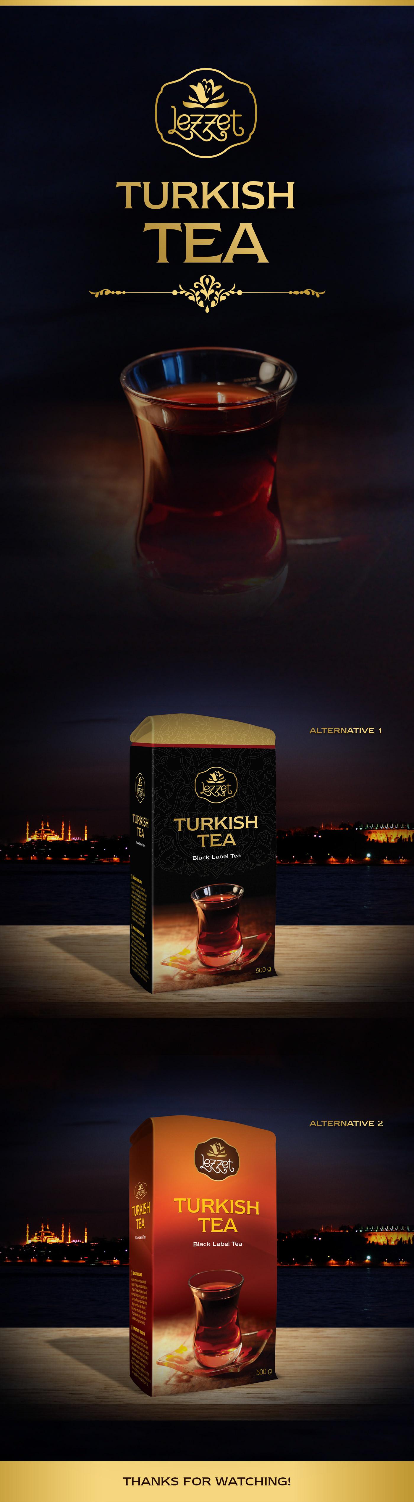 ambalaj packing tea çay istanbul tukish tea Packing Design lezzet drink ottoman osmanlı coffe kahve sohbet