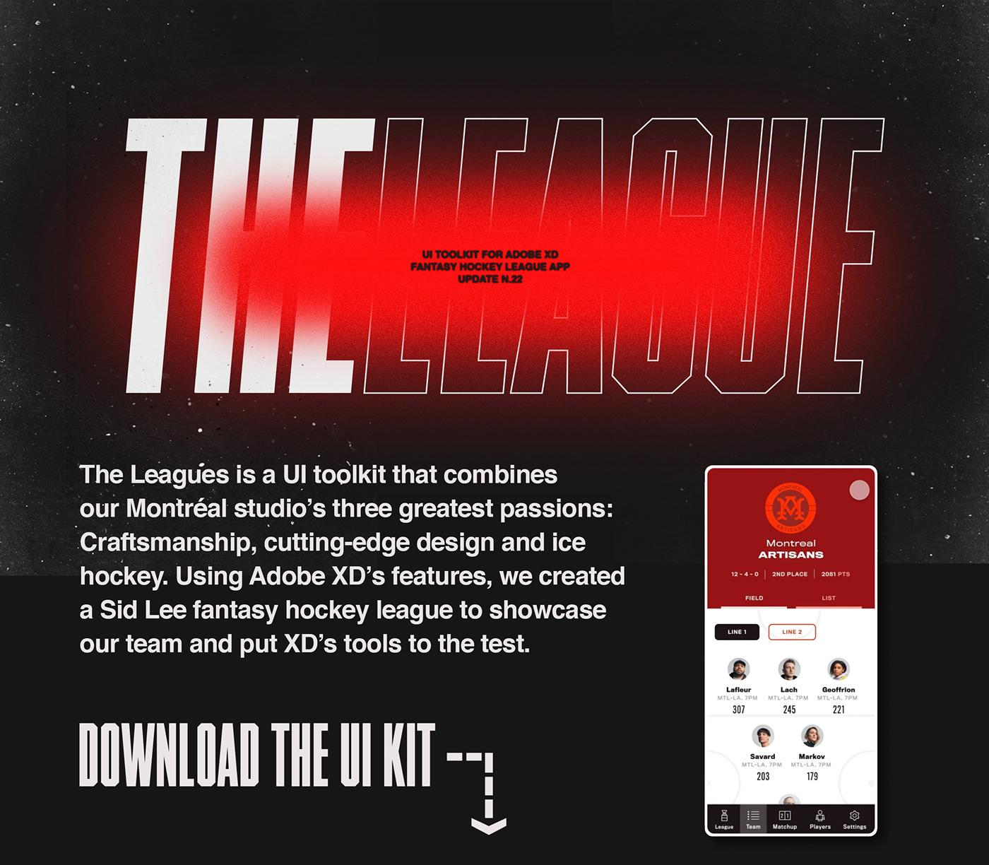 ui kit freebie UX design xD Adobe XD UI ux