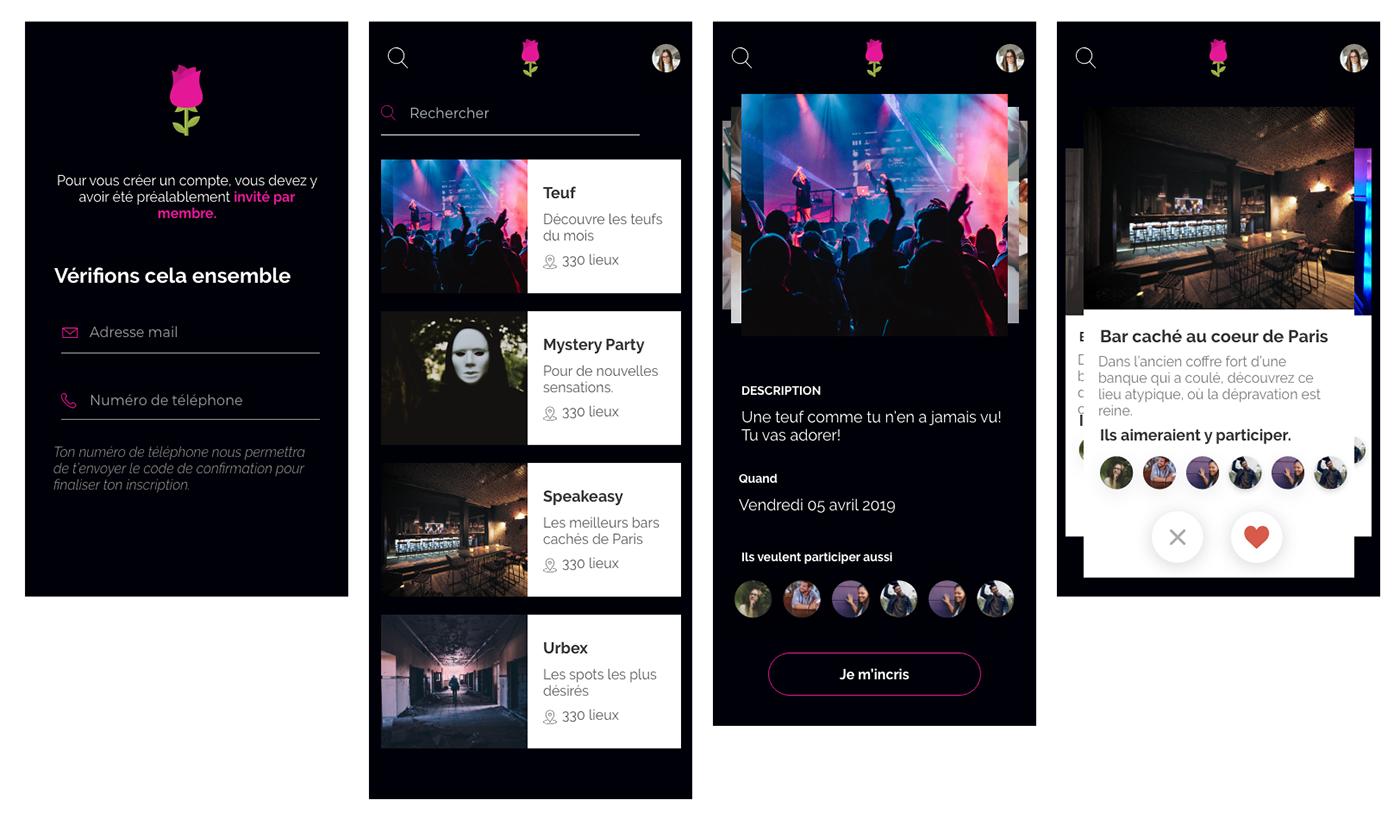 adobe Adobe XD adobe suite creative jam Paris UI/UX graphic design  mobile app design Web Design